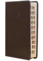 Patmos Biblia - Középes Barna - Regiszteres
