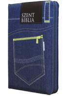 Patmos Biblia - Középes Farmer Fiú - Cipzáras