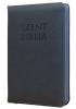 Patmos Biblia - Középes Kék - Regiszteres - Cipzáras
