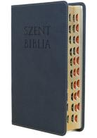 Patmos Biblia - Középes Kék - Regiszteres