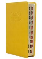 Patmos Biblia - Középes Sárga - Regiszteres