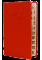 Patmos Biblia - Középes Piros - Regiszteres
