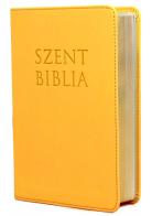 Patmos Biblia - Közepes Napsárga - sima