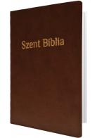 Patmos Biblia Károli - közepes, barna