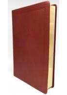 Patmos Biblia - Nagy Bordó - Sima (bivalybőr + díszdoboz)