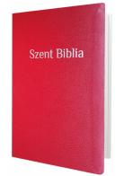 Patmos Biblia Károli - közepes, piros