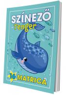 Színező - Tenger (matricás)