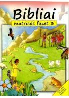 Bibliai matricás füzet nr.3