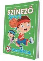 Színező - Sport matricás