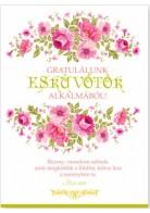 Képeslap - borítékos: Esküvőre
