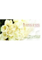 Képeslap - borítékos: Házasságkötésetek alkalmából