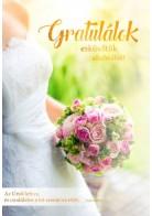 Képeslap - borítékos: Gratulálok esküvőtök alkalmából!