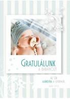 Képeslap - borítékos: Gratulálunk a babához!