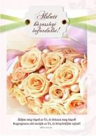 Képeslap - borítékos: Áldott házassági évfordulót!